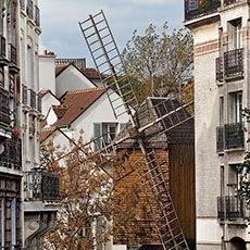 Pictures of montmartre and other places outside of paris - Moulin de la borderie ...