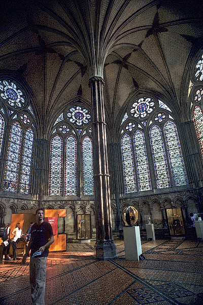 Inside Westminster Abbeys Chapter House In Westminster