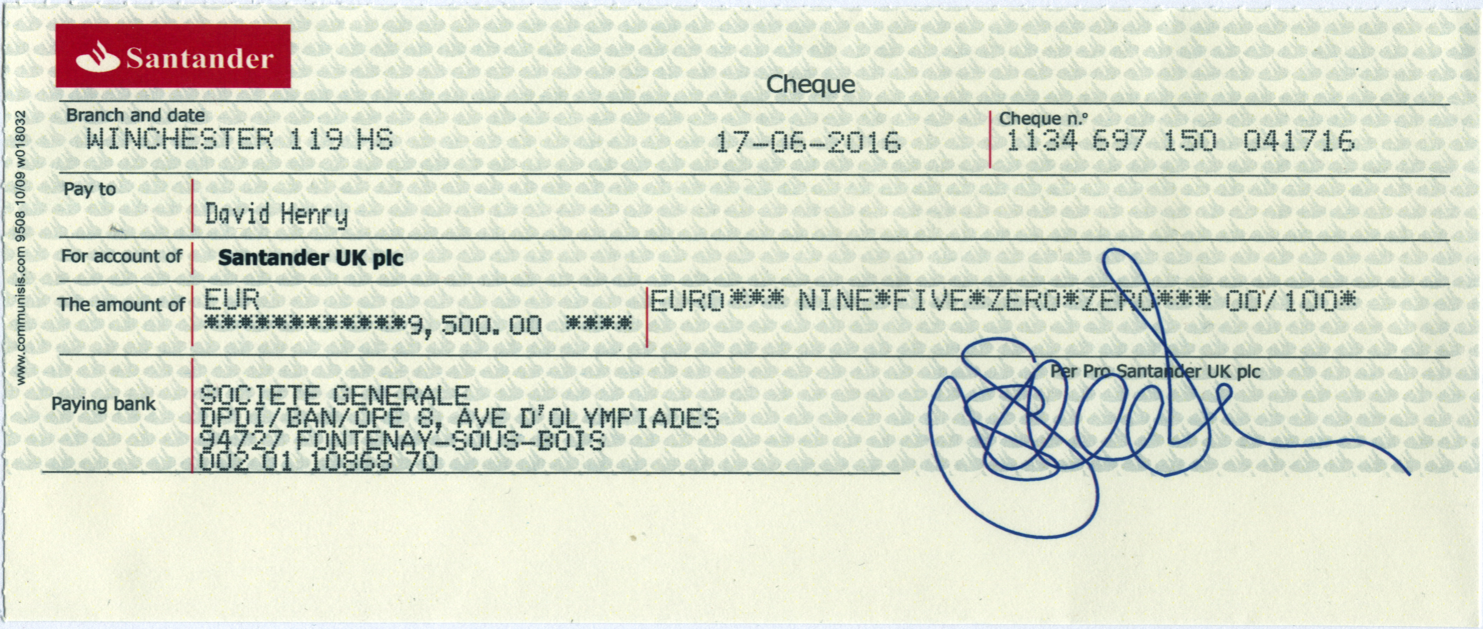 Click To See This Check In High Resolution · How To How To Write A Check