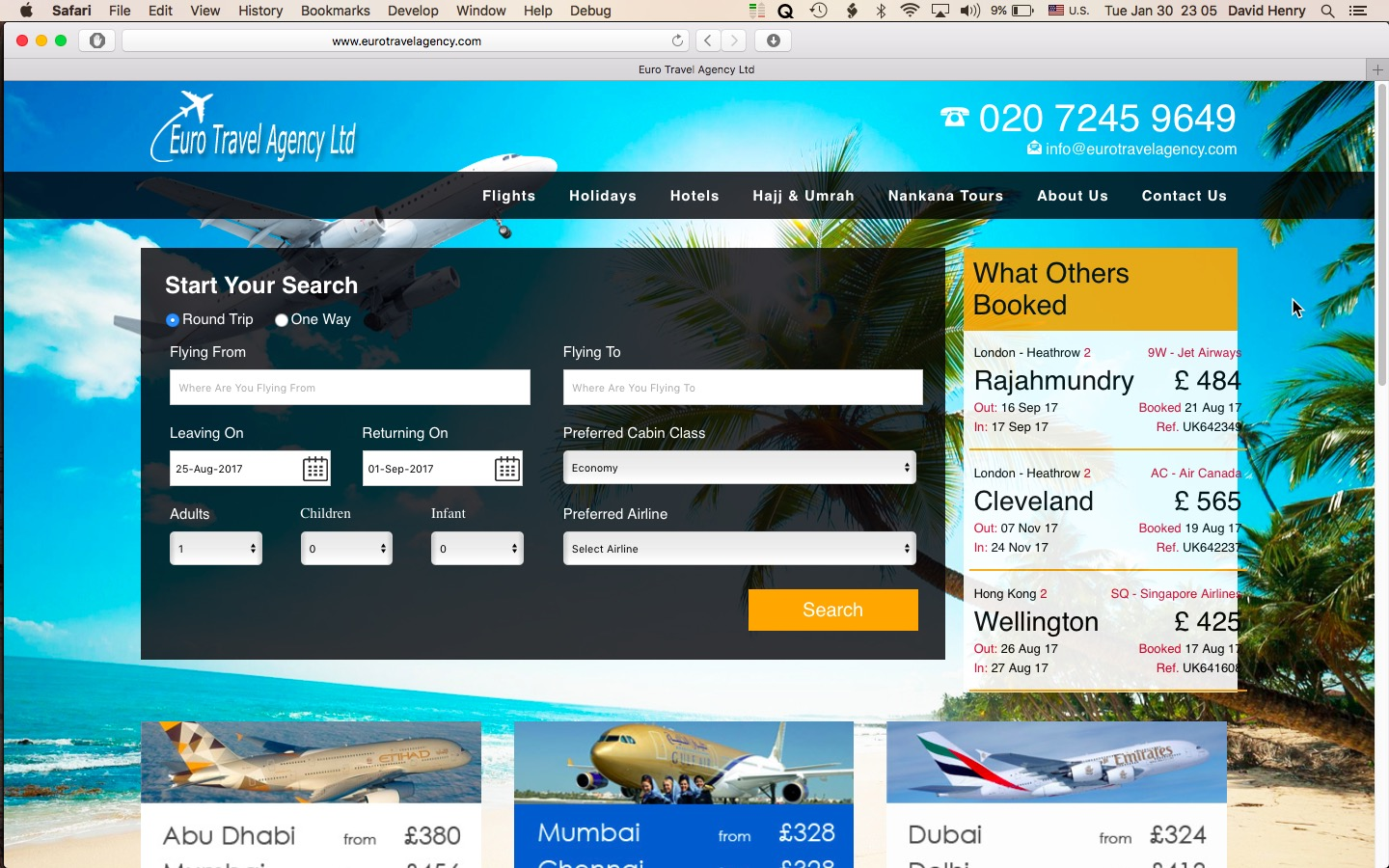 Scamming Elite Travel Agency trying to rip off a ...